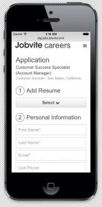 Jobvite screenshot 1