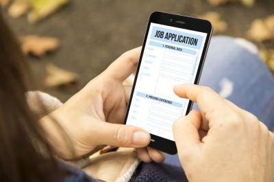 Smartphone job application